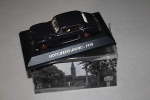 【送料無料】模型車 モデルカー スポーツカーホチキスhotchkiss anjou 1950
