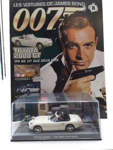 【送料無料】模型車 モデルカー スポーツカートヨタジェームスボンドtoyota 2000 gt you only lives twice n884 cars james bond 143