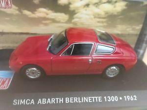 【送料無料】模型車 モデルカー スポーツカーシムカabarth berlinette 1300altaya 143simca abarth berlinette 1300altaya 143