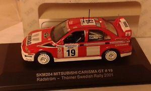 【送料無料】模型車 モデルカー スポーツカースキッドカリスマスウェーデン#;skid mitsubishi carisma gt sweden039;01 radstrom