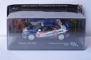 【送料無料】模型車 モデルカー スポーツカーネットワークプジョー#ixo altaya peugeot 307 wrc 2 cvennes 2007 143