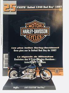 【送料無料】模型車 モデルカー スポーツカーオートバイハーレーダビッドソンminiature motorcycle harley davidson softail bad boy 1340 1997 118 n2550 bookl