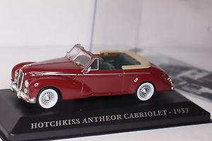 【送料無料】模型車 モデルカー スポーツカーホチキスaltaya hotchkiss antheor convertible 1953 143