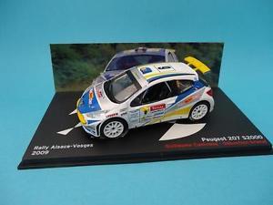 【送料無料】模型車 モデルカー スポーツカープジョーラリーアルザスヴォージュネットワークpeugeot 207 s2000g canivenqrally alsace vosges 2009 143 ixo altaya