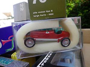 【送料無料】模型車 モデルカー スポーツカーリオアルファロメオタイプタルガフローリオボックスrio no 70 alfa romeo type b targa florio 1934 condition in box