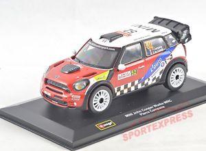 【送料無料】模型車 モデルカー スポーツカーミニジョンクーパーモンテカルロラリーカンパーナ# 132 1840002 mini john cooper opere wrc, rallye monte carlo, campana 52