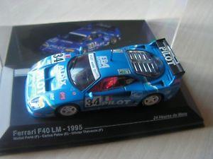 【送料無料】模型車 モデルカー スポーツカーレースカーフェラーリルマンセリエ143 racing car ferrari f 40 1995 24 hours of le mans serie 10