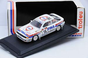 【送料無料】模型車 モデルカー スポーツカートヨタセリカグアテマラ#ツールドコルスボックスオンtoyota celica gt4 fina 15 tour de corse 1991 trofeu 143 in box