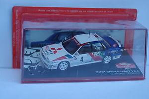 【送料無料】模型車 モデルカー スポーツカーネットワークギャラン#モンテカルロixo altaya mitsubishi galant vr4 4 monte carlo 1991 143
