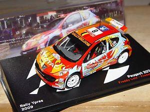 【送料無料】模型車 モデルカー スポーツカープジョー#ラリーイープルpeugeot 207 s2000 8 rally ypres 2009 freddy loix 143e altaya