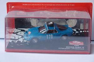 【送料無料】模型車 モデルカー スポーツカーネットワーク#モンテカルロixo altaya matra djet v 179 monte carlo 1966 143