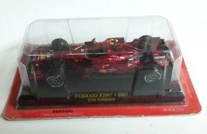 【送料無料】模型車 モデルカー スポーツカーフェラーリキミライコネンブリスターフォーミュラferrari f2007 kimi raikkonen f1 formula 1 no 6 red 143 in blister