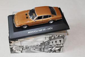 【送料無料】模型車 モデルカー スポーツカーモニカmonica 560 v8