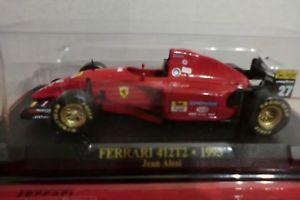 【送料無料】模型車 モデルカー スポーツカーフェラーリジャンストレートファイルferrari f1 collectionferrari 412 t2 1995jean straightwith file