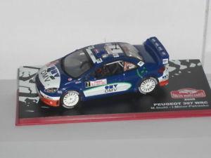 【送料無料】模型車 モデルカー スポーツカーネットワークプジョーモンテカルロixo altaya peugeot 307 monte carlo 2006