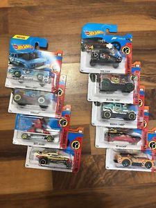 【送料無料】模型車 モデルカー スポーツカーホットホイール#;シリーズ#hot wheels hw daredevils 034;almost complete series034;