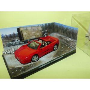 【送料無料】模型車 モデルカー スポーツカーフェラーリジェームスボンドferrari f355 gts goldeneye james bond 143 altaya