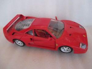 【送料無料】模型車 モデルカー スポーツカーフェラーリ118 tonka polistil ferrari f40 1987red tbe