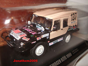 【送料無料】模型車 モデルカー スポーツカーダカールnorev volkswagen iltis n 137dakar 1980 to 143