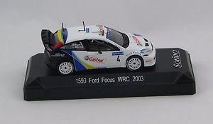 【送料無料】模型車 モデルカー スポーツカーフォードフォーカスソリッドミントボックスford focus 1593 wrc 2003 143 solid mint box