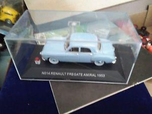 【送料無料】模型車 モデルカー スポーツカーノスタルジアルノーアドミラルボックスnostalgia no 14 renault frgate admiral 1953 box 143