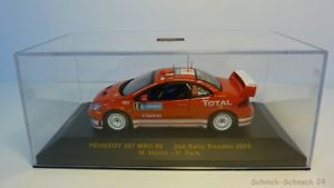 【送料無料】模型車 モデルカー スポーツカーネットワークラムプジョー#スウェーデンラリーixo 143 ram183 peugeot 307 wrc 8 2nd rally sweden 2005 24747