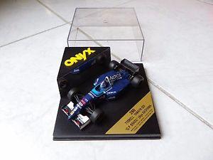 【送料無料】模型車 モデルカー スポーツカーティレルヤマハブラジル#オニキスtyrrell yamaha 023 ranma katayama brasil gp 3 onyx 260 143 1995 f1