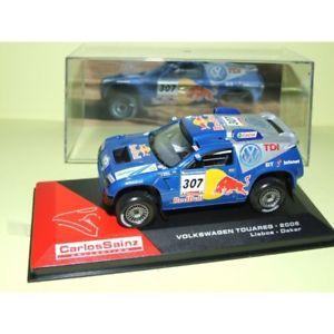 【送料無料】模型車 モデルカー スポーツカーパリダカールvw touareg paris dakar 2006 c sainz altaya 143