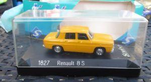 【送料無料】模型車 モデルカー スポーツカールノーm92 143 renault 8s 1827 solido