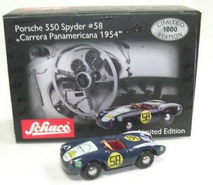 【送料無料】模型車 モデルカー スポーツカーポルシェスパイダーパナメリカーナporsche 550 spyder panamericana 1954 58