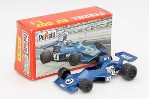 【送料無料】模型車 モデルカー スポーツカークラブフォーミュラエルフティレル#polistil club 33 155 formula 1 f1 elf tyrrell 007 rj4 with its box