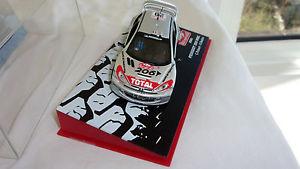 【送料無料】模型車 モデルカー スポーツカープジョーラリードモンテカルロパイロットロバートpeugeot 206 wrc rallye de monte carlo 2003 pilot c robert and g