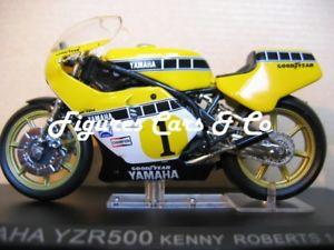 【送料無料】模型車 モデルカー スポーツカーモトセリエヤマハケニーロバーツ#124 moto gp 33 serie 1 500 yamaha yzr 1979 kenny roberts 1