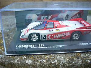 【送料無料】模型車 モデルカー スポーツカールマンポルシェラマースパーマーロイドスケールle mans porsche 956 1983 lammers palmer lloyd scale 1 43