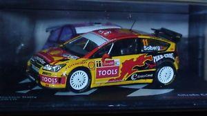 【送料無料】模型車 モデルカー スポーツカーシトロエンソルベルグラリーメキシコグローバルリレーcitroen c4 wrc solberg 143 rally mexico 2010 global relay10 cars available