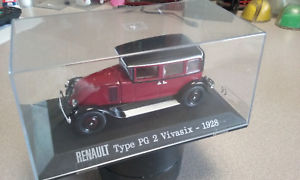 【送料無料】模型車 モデルカー スポーツカールノータイプ143 renault type pg 2 vivasix 1928 altaya