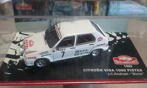 【送料無料】模型車 モデルカー スポーツカーシトロエンビザピステ143 citroen visa mille pistes mintecarlo 1985 j andruet