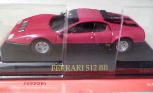 【送料無料】模型車 モデルカー スポーツカーフェラーリネットワークferrari 512 bb ixo 143
