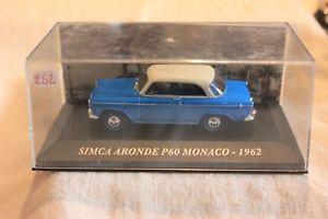 【送料無料】模型車 モデルカー スポーツカーミニチュアカーモナコダブminiature cars no 252 simca dove p 60 monaco 1962