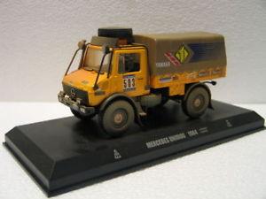 【送料無料】模型車 モデルカー スポーツカーメルセデスパリダカールデアゴスティーニmercedes unimog paris dakar 1984 de agostini