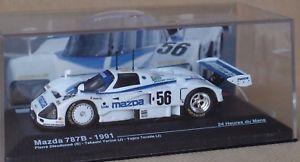 【送料無料】模型車 モデルカー スポーツカーマツダルマンmazda 787 b 143 24 h dieudonn du mans 1991global relay car10 available