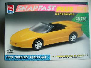 【送料無料】模型車 モデルカー スポーツカースナップファーストプラスキットamt 6317 firebird tans on 1197 snap fast plus kit for beginners 125