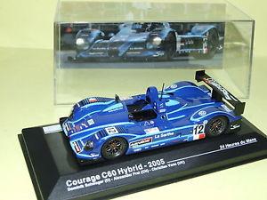 【送料無料】模型車 モデルカー スポーツカーハイブリッド#ルマンネットワークcourage c60 hybrid 12 le mans 2005 ixo 143 j13