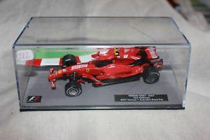 【送料無料】模型車 モデルカー スポーツカーミニチュアカーフェラーリキミライコネンminiature cars 222 ferrari f 2007 kimi raikkonen 2007