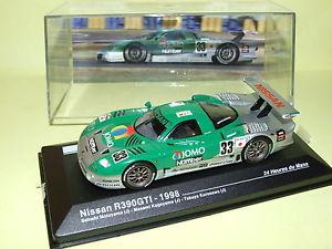 【送料無料】模型車 モデルカー スポーツカー#ルマンネットワークnissan r390 gti 33 le mans 1998 ixo 143 j41