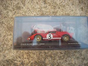 【送料無料】模型車 モデルカー スポーツカーフォードルマンスケールford gt40 mkii 1966 24 heures du mans scale 1 43