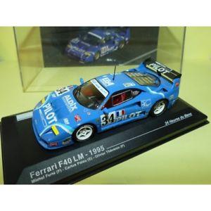 【送料無料】模型車 モデルカー スポーツカーフェラーリルマンferrari f40 lm n 34 le mans 1995 altaya 143 12me