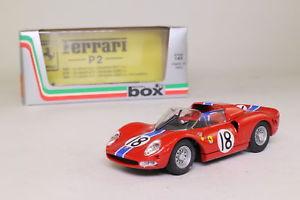 【送料無料】模型車 モデルカー スポーツカーボックスフェラーリルマンロドリゲスbox 8449; ferrari p2; 1965 24h le mans, rodriguezvaccarella; excellent boxed