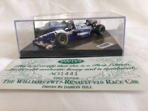 【送料無料】模型車 モデルカー スポーツカーオニキスフォーミュラレースウィリアムズルノーonyx heritage f1 formula 1 racing first edition the williams fw17 renault v10