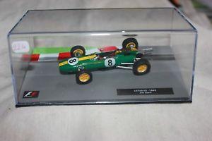 【送料無料】模型車 モデルカー スポーツカーミニチュアカーロータスジムクラークminiature cars 224 lotus 25 jim clarke 1963
